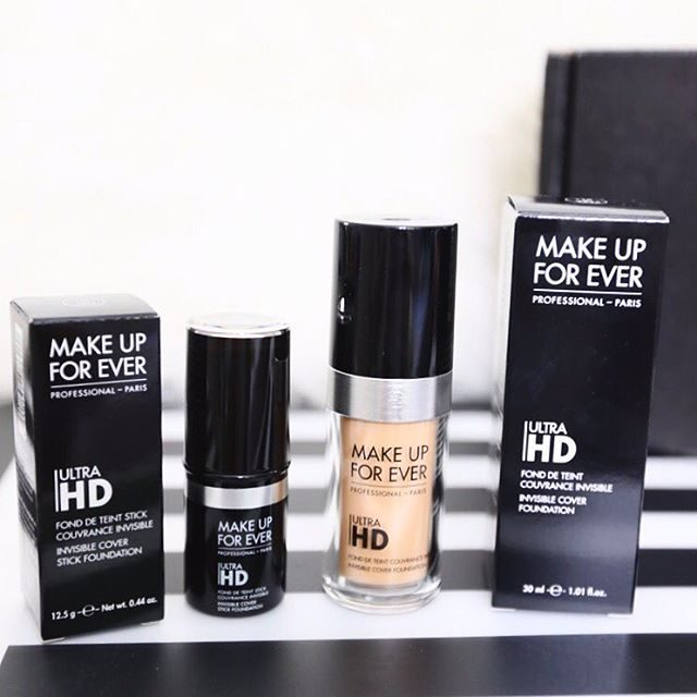 OMG Im in love with MUFE Ultra HD foundations Thankhellip