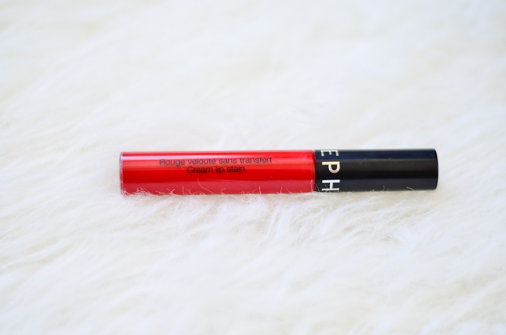 Cream Lip Stain Sephora 01 Roșu Mat Lets Be Gorgeous