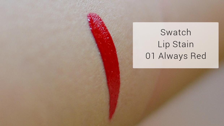 Cream Lip Stain Sephora 01 Roșu Mat Lets Be Gorgeous