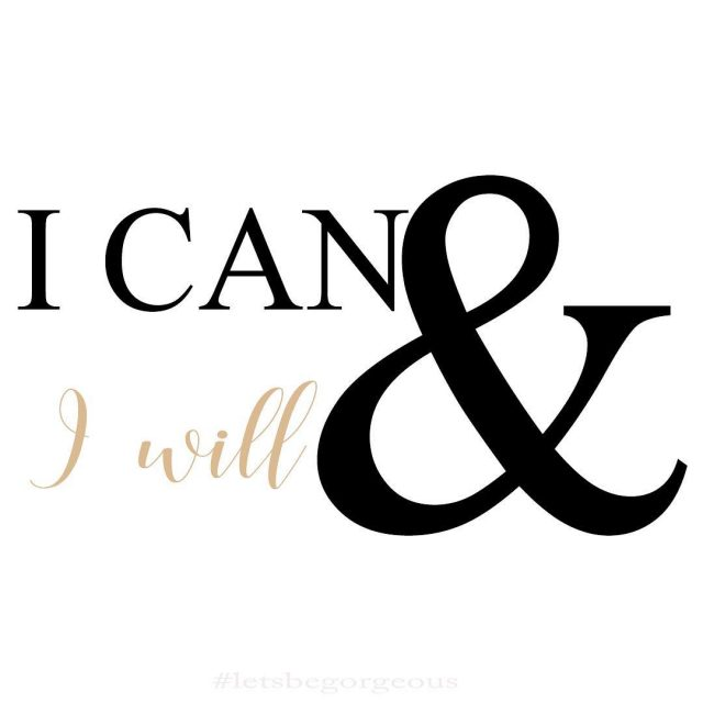New Goals I can and I will wwwletsbegorgeouscom  hellip