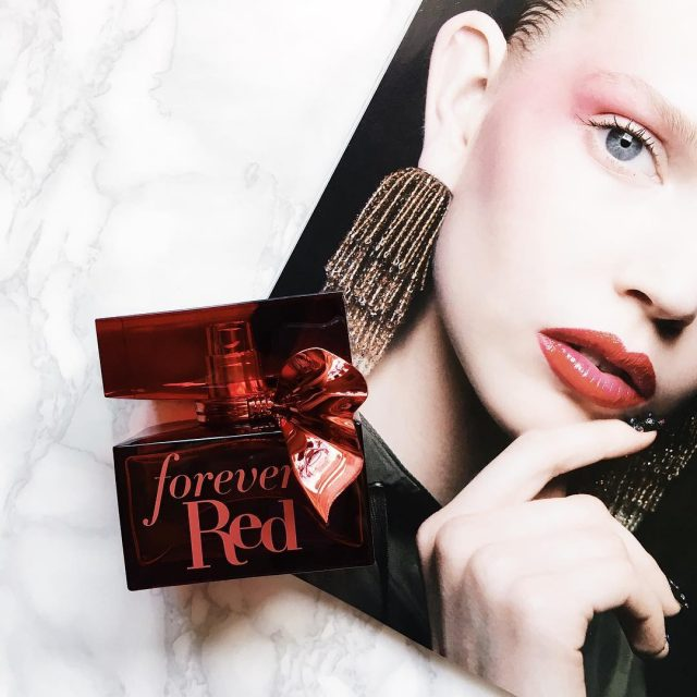 Forever Red Un parfum Bath and Body Works care miahellip