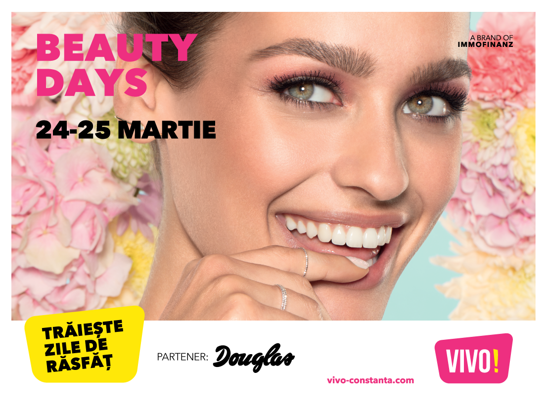 Eveniment Beauty Days VIVO! Constanța - Douglas